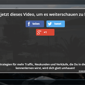 Virale Social-Share Buttons direkt im Video