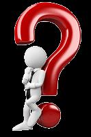 Was ist Video Hosting und Videolyser? Weiße Figur lehnt sich an ein rotes Fragezeichen